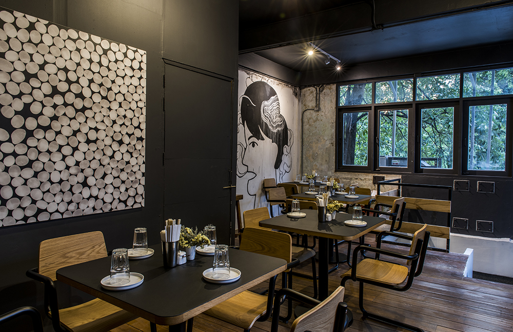 Jua bangkok restaurant interior architecture and