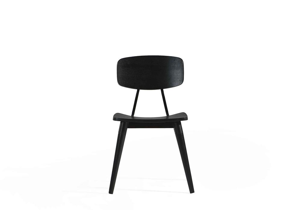 Copine Black Open Pore Chair Designed by Sean Dix