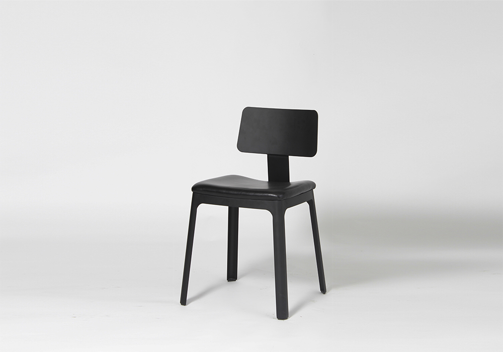 Upholstered Street Chair Designed by Sean Dix