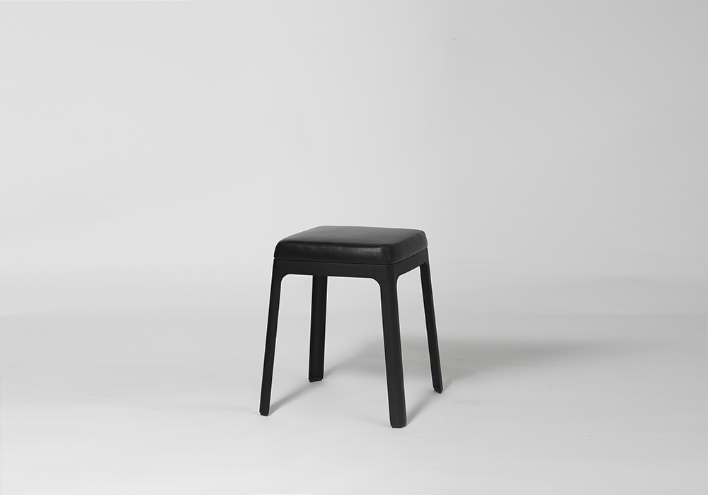 Upholstered Street Stool Designed by Sean Dix