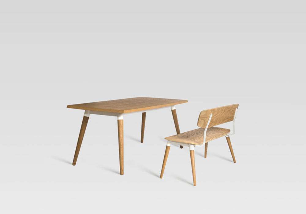 copine bench and table_designed by sean dix