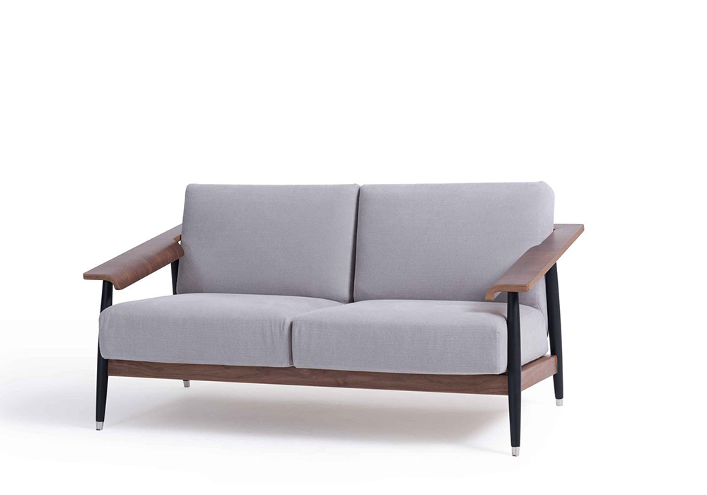 dowel 2 seat sofa designed by sean dix
