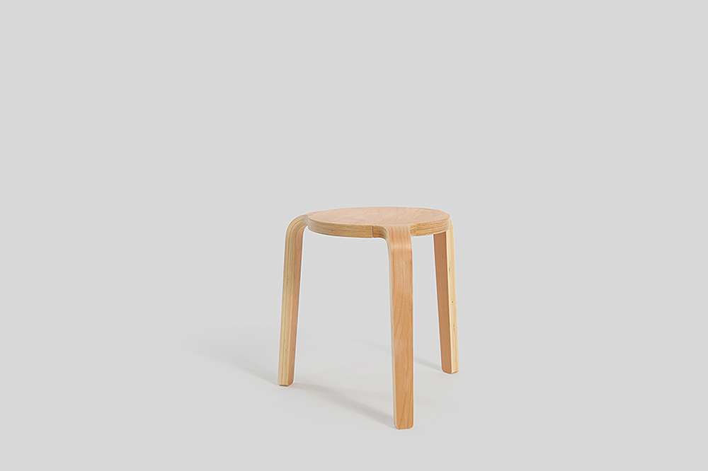 Modern Minimal Furniture The Basso Stool By Sean Dix