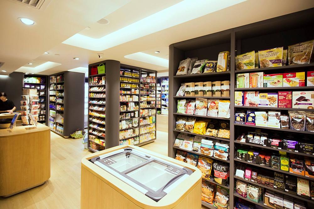 Justgreen Organic Convenience Store Interior Design Sean Dix